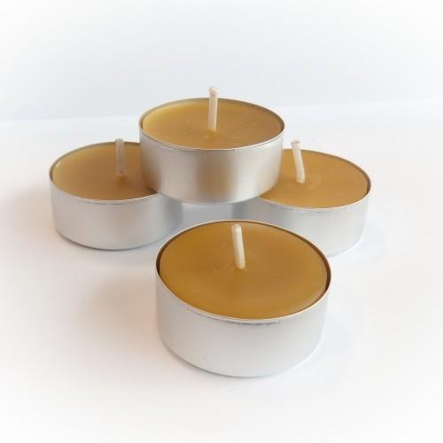 Podgrzewacz tealight - wosk pszczeli