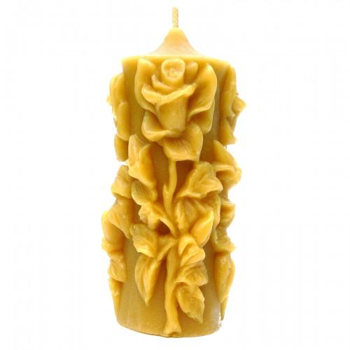 Róża - świeca