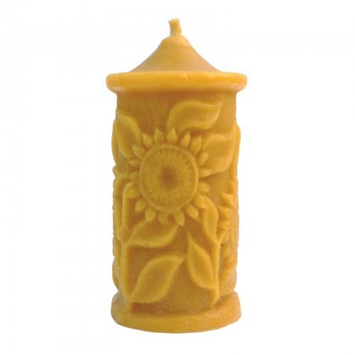 Słoneczniki - świeca