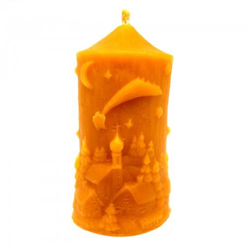 Świąteczna mała - świeca