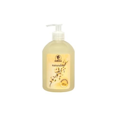 Mydło naturalne z bawełną i miodem 500ml