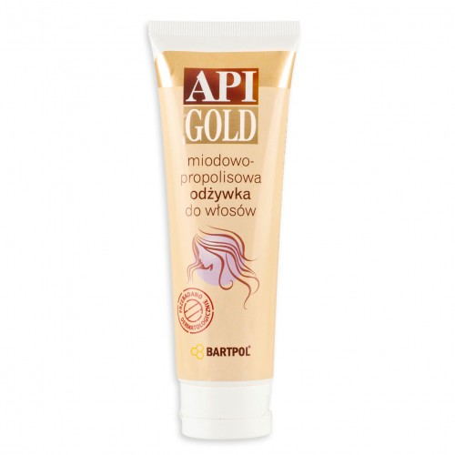 Odżywka do włosów API-GOLD miodowo-propolisowa 100 ml