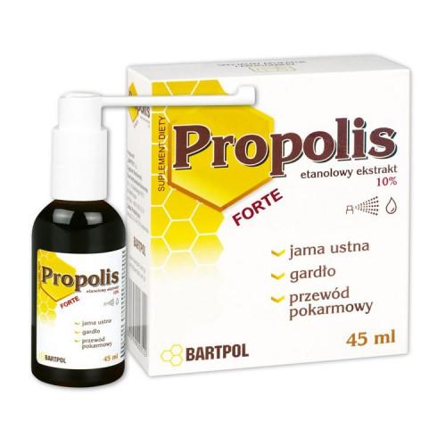 PROPOLIS FORTE etanolowy ekstrakt 10% 45 ml