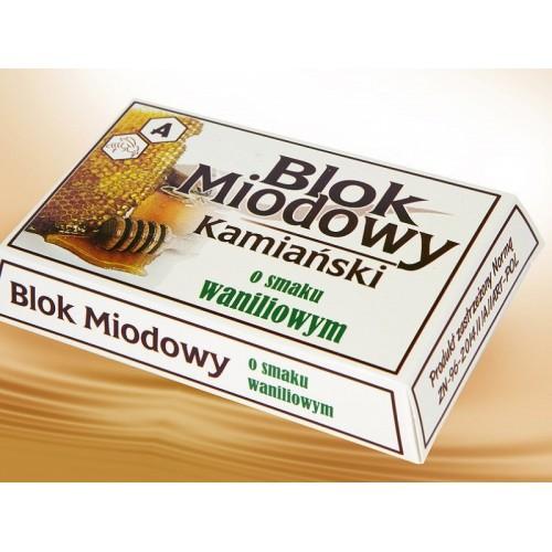 Blok miodowy 100g - wanilia