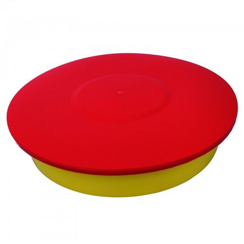Pokrywka podkarmiaczki powałkowej okrągłej 4l