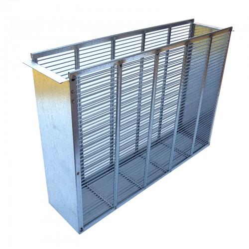 Izolator metalowy 2 ramkowy wlkp
