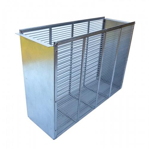 Izolator metalowy 3 ramkowy wlkp