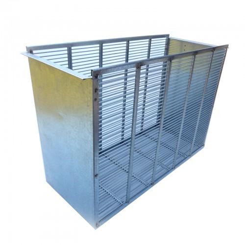 Izolator metalowy 4 ramkowy wlkp