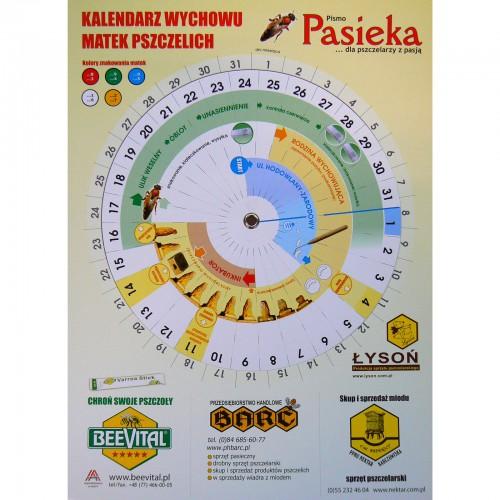 Kalendarz do wychowu matek pszczelich