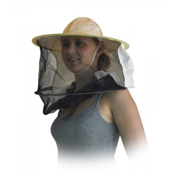 Kapelusz pszczelarski - materiał z tyłu PREMIUM