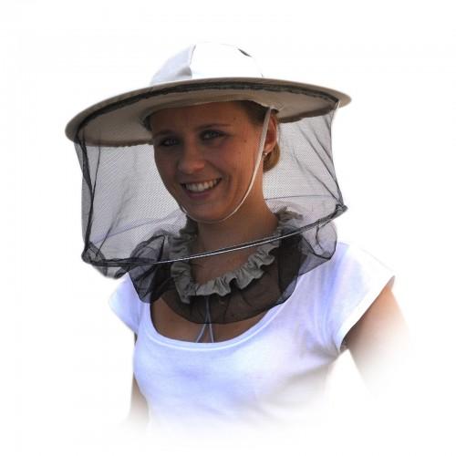 Kapelusz pszczelarski - siatka z tyłu PREMIUM
