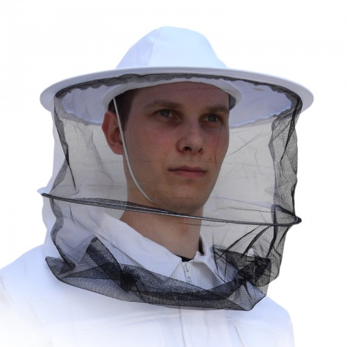Kapelusz pszczelarski - z zamkiem