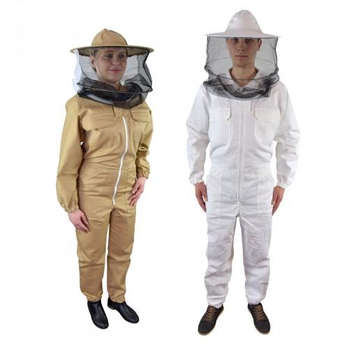 Kombinezon pszczelarski z kapeluszem PREMIUM
