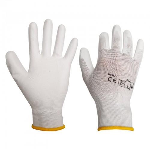 Rękawice robocze dziane powlekane poliuretanem