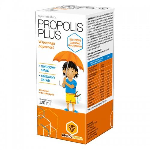 Propolis Plus syrop dla dzieci 120ml