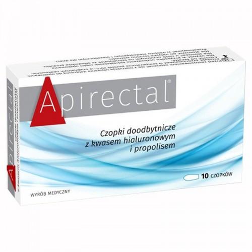 Apirectal czopki propolisowe doodbytnicze 10 szt.