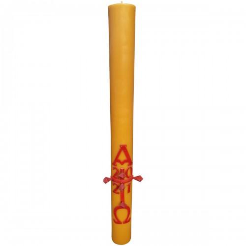 Paschał Wielkanocny - świeca z wosku pszczelego 8 x 80