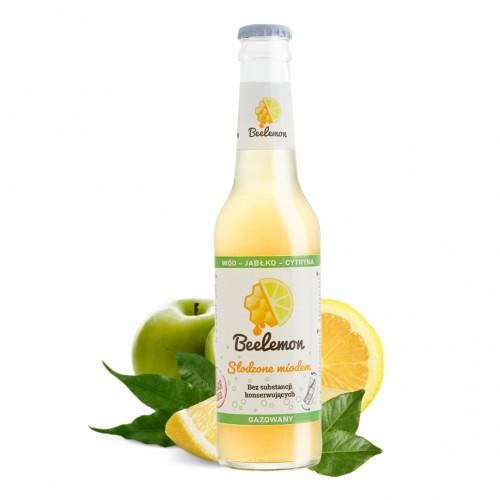Lemoniada gazowana miód - jabłko - cytryna 275 ml