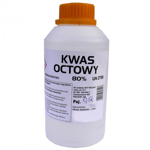 Kwas octowy 0,5l