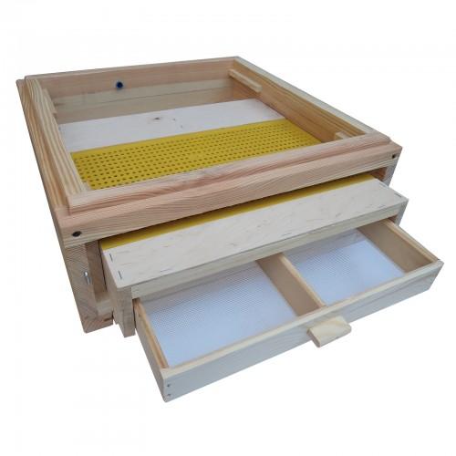 Poławiacz pyłku dennicowy z siatką wlkp