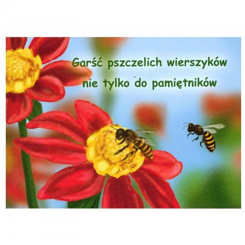 """Książka - """"Garść pszczelich wierszyków"""""""