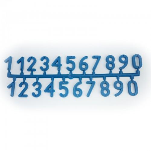 Numery na ul - 1 plaster