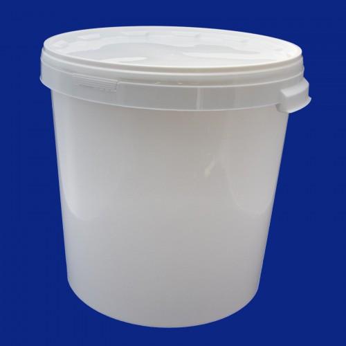 Wiadro plastik 30l z pokrywą